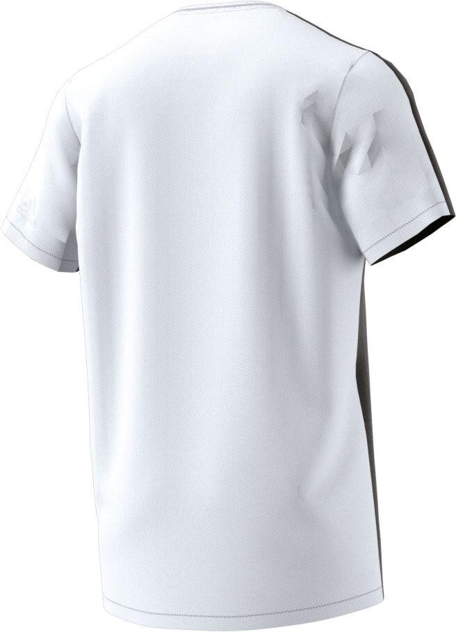d6756f87217 adidas Tokyo UV Løbe T-shirt Herrer hvid/sort   Find cykeltilbehør ...